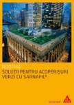 Solutii pentru acoperisuri verzi cu SARNAFIL SIKA