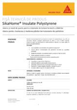 Adeziv pentru termosistem cu polistiren SIKA