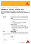 Adeziv si masa de spaclu pentru sistemele de izolare termica a cladirilor SIKA - SikaHome® Insulate