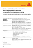Protectie antifoc pentru lemn SIKA - Pyroplast® Wood P