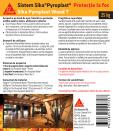 Protectie antifoc pentru lemn 25kg SIKA - Pyroplast® Wood T