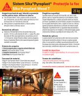 Protectie antifoc pentru lemn 25kg SIKA