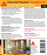 Protectie antifoc pentru lemn - 5kg SIKA