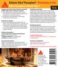 Protectie antifoc pentru lemn - 10kg SIKA - Pyroplast® Wood Top T