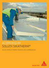 Solutii certifificate pentru hidroizolarea acoperisurilor SIKA