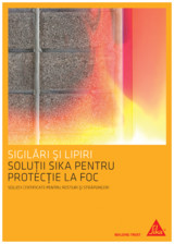 Protectie la foc - Produse pentru rosturi si strapungeri SIKA