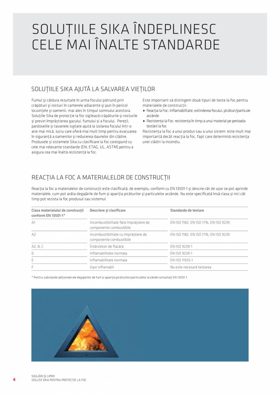 Pagina 4 - Protectie la foc - Produse pentru rosturi si strapungeri SIKA Sikasil®-670 Fire,...