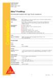 Silicon de etansare rezistent la foc SIKA - Sika® FireStop