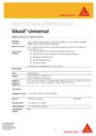 Sigilant siliconic cu intarire acetoxi SIKA - Sikasil®-Universal