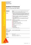 Adeziv universal pentru lipiri elastice SIKA - SikaBond® AT-Universal