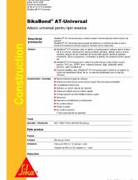 Adeziv universal pentru lipiri elastice