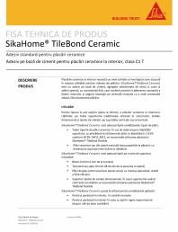 Adeziv standard pentru placari ceramice