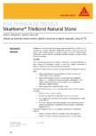 Adeziv pe baza de ciment pentru placari ceramice si piatra naturala SIKA - SikaHome® TileBond Natural