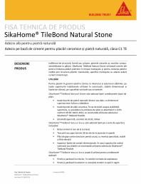 Adeziv pe baza de ciment pentru placari ceramice si piatra naturala