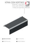 Manual de instalare pergola retractabila cu sistem Vertiko GAVIOTA - KYMA