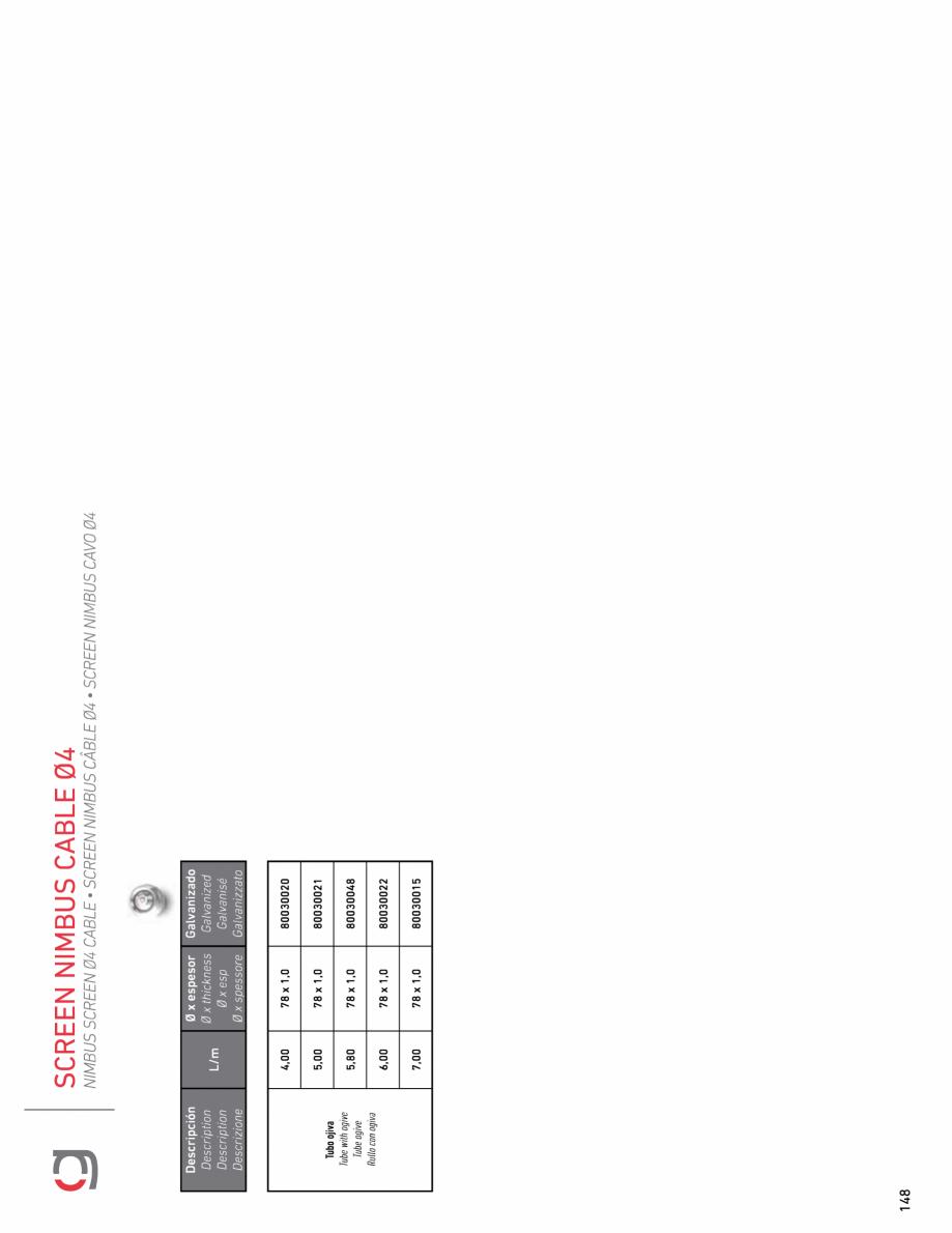 Pagina 20 - Rulou exterior GAVIOTA NIMBUS Fisa tehnica Engleza, Franceza, Italiana, Spaniola