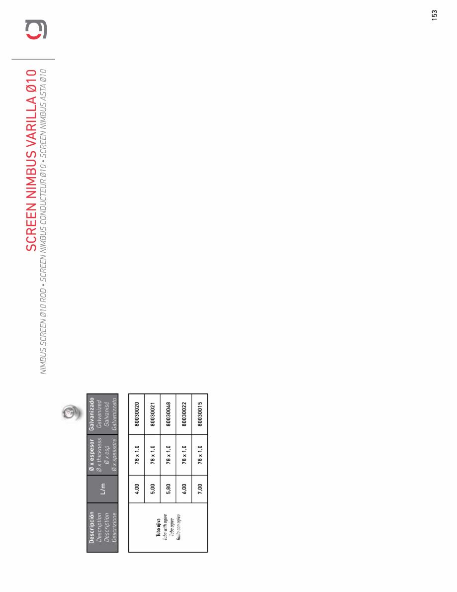 Pagina 25 - Rulou exterior GAVIOTA NIMBUS Fisa tehnica Engleza, Franceza, Italiana, Spaniola