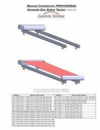 Manual de instalare parasolar, model tavan - partea 1