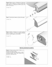 Manual de instalare parasolar, model tavan - partea 2