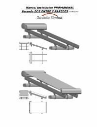Manual de instalare parasolar intre 2 pereti