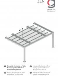 Manual instalare pergola retractabila, nivel 1 v1