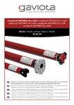 Manual de instalare motor GS-GSM pentru copertine GAVIOTA
