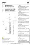 Instructiuni montaj pentru bloc de prize universal utilizabil BACHMANN - CASIA