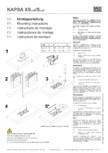 Instructiuni montaj pentru unitatea de prize KAPSA S-XS BACHMANN -