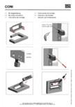 Instructiuni montaj pentru panoul de racord BACHMANN - CONI