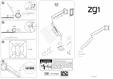 Instructiuni montaj brat monitor BACHMANN - ZG2