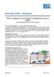PDU cu dispozitiv de protectie la supratensiune tip 3  BACHMANN