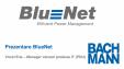 Prezentare software de monitorizare BlueNet + RCM (monitorizare curent rezidual) pentru unitati de distributie inteligenta a