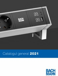 Catalog general de produse BACHMANN - 2021