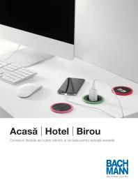 Acasa, hotel, birou - prezentare produse BACHMANN