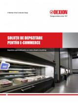 Solutii de depozitare pentru e-commerce DEXION