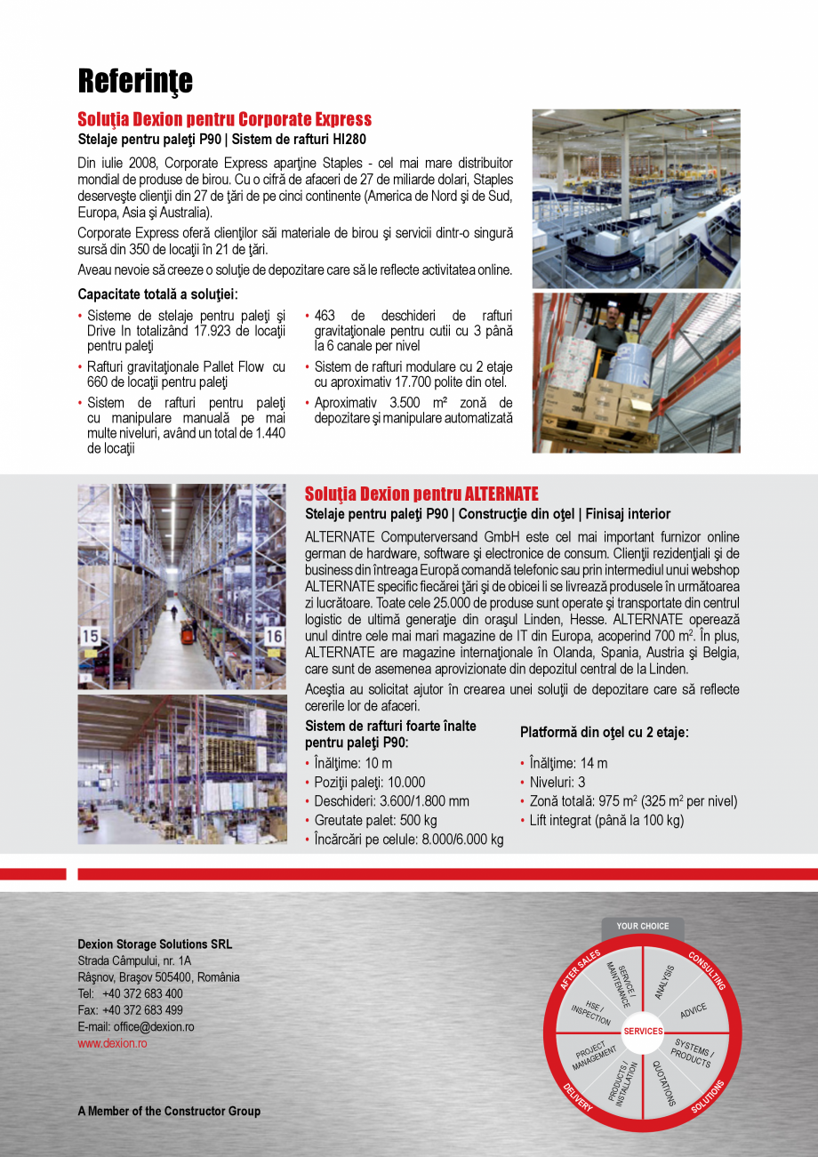 Pagina 4 - Solutii de depozitare pentru e-commerce DEXION HI280 Catalog, brosura Romana xpress...