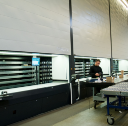 Sisteme automate de depozitare, manipulare si WMS  DEXION