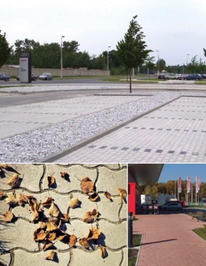 Pavele SERPENTINO  Serpentino Pavele din beton