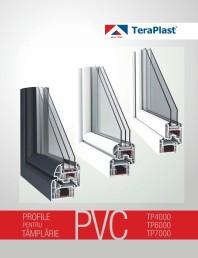 Profile pentru tamplarie PVC