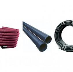 Tevi din polietilena si PVC pentru protectie cabluri TeraPlast