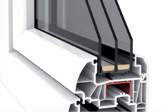 Profile de tamplarie PVC cu 4, 6 si 7 camere TeraPlast