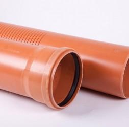 Ţevi din PVC rigide pentru drenarea apelor subterane TeraPlast