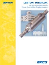 Element de cuplare pentru structuri prefabricate ERICO