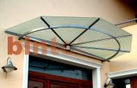 Copertine fixe pentru protectia impotriva precipitatiilor BINTEL