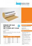 Vata minerala bazaltica lamelara BANDATECH - Nobasil LMF ALUR