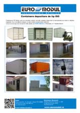 Container pentru transport si depozitare EURO MODUL