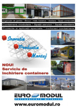 Containere multifunctionale metalice EURO MODUL