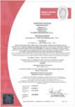 Certificat nr. 317/018 - Gresie pentru interior CERIM