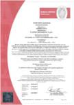 Certificat nr. 317/017 - Gresie pentru interior CERIM