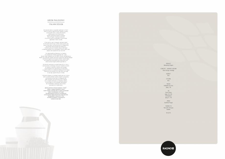 Pagina 24 - Set de faianta si gresie RAGNO BRICK GLOSSY Catalog, brosura Engleza, Germana, Franceza,...